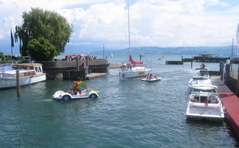 Freizeit am Bodensee