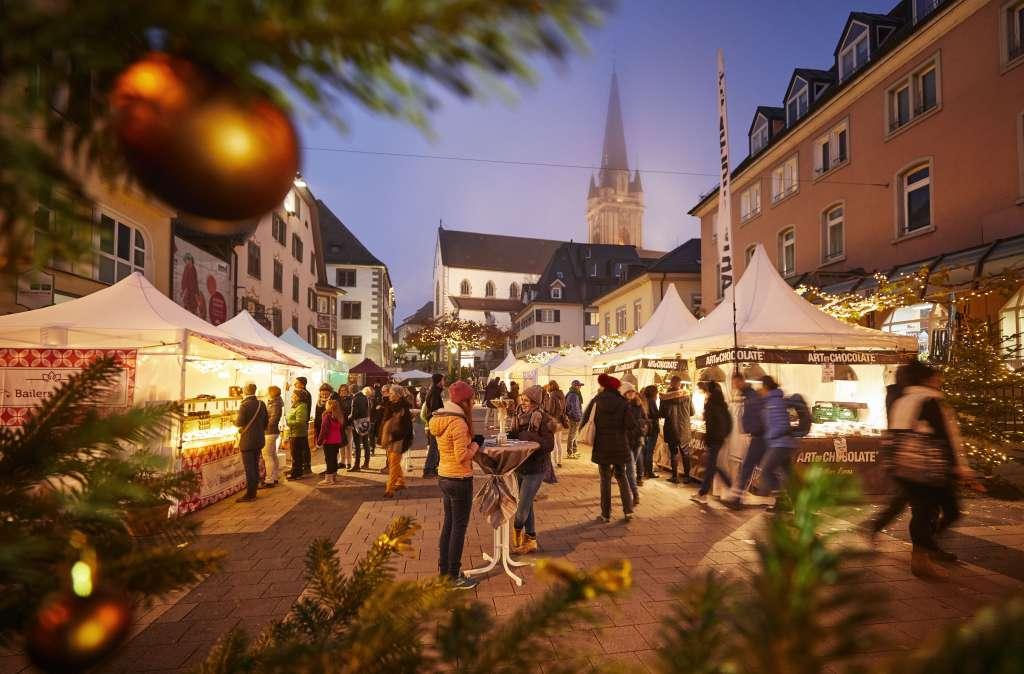 Schokoladenmarkt in Radolfzell | Bildnachweis: Tourismus- und Stadtmarketing Radolfzell