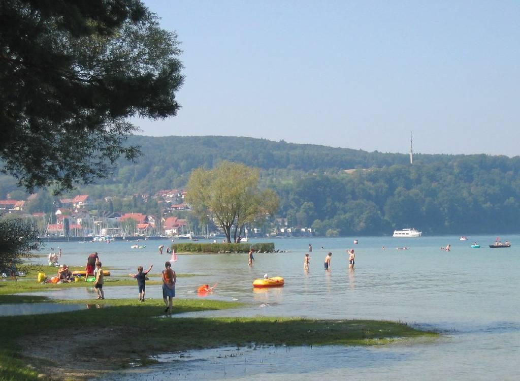 Strandbad Dingelsdorf Klausenhorn Www Freizeit Bodensee Com