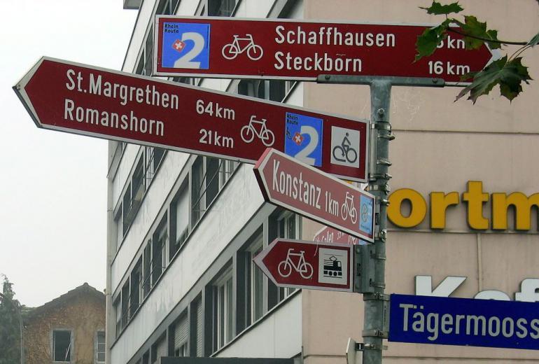 Bodensee-Radweg Kreuzlingen