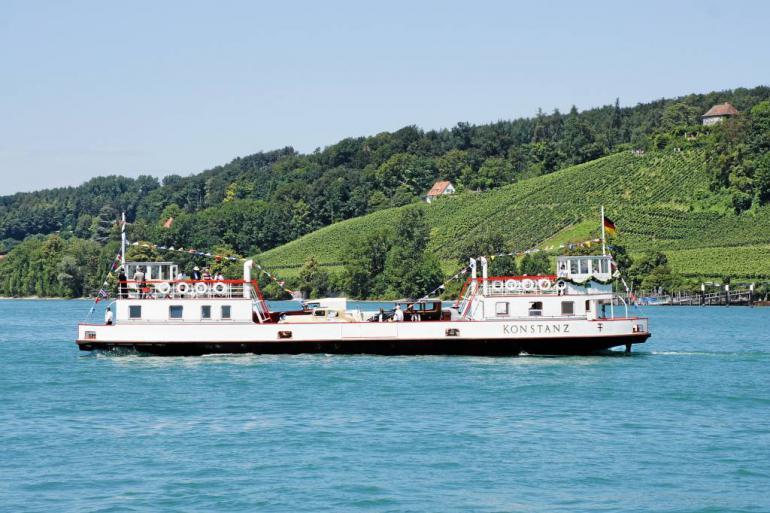 Historische Fähre Konstanz