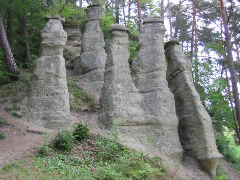 Die sieben Churfirsten bei Sipplingen