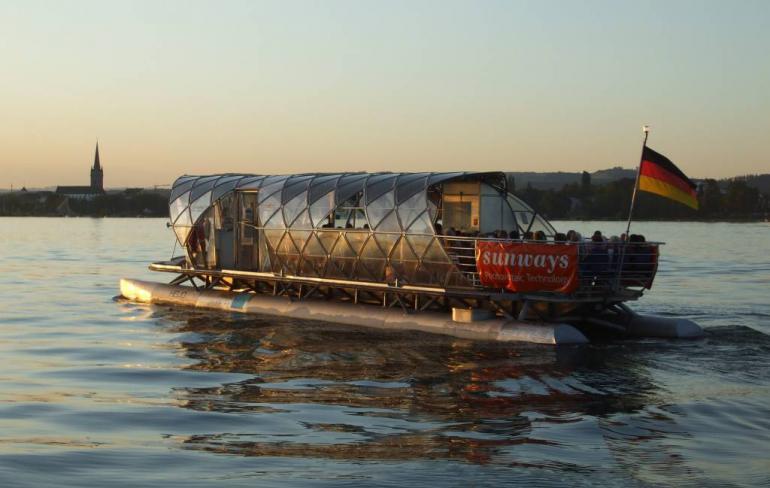 Solarschiff HELIO
