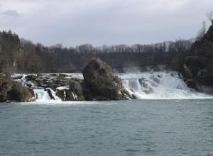 Der Rheinfall in Schaffhausen